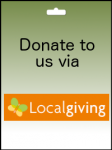 Donate to us via LocalGiving